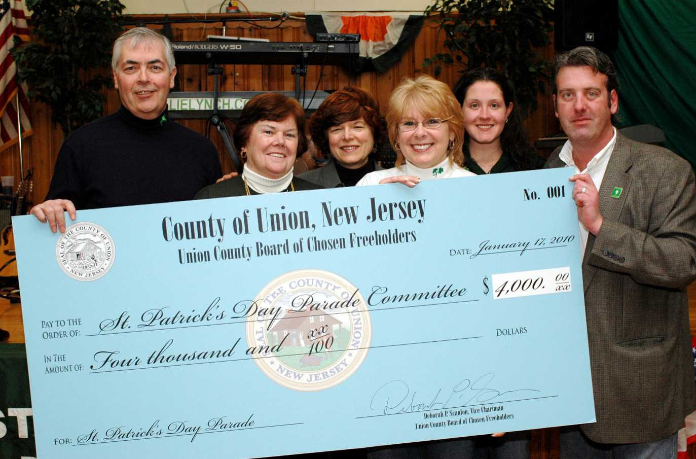 2010 Freeholder check.